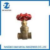 Dr 2022 Forjados Bronze latão válvula gaveta de Água