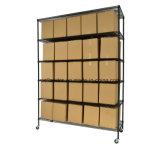 Передвижная Epoxy стальная система шкафа Shelving хранения пакгауза