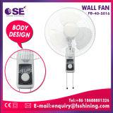 Ventiladores fixados na parede de oscilação brandnew de 16 polegadas (fb-40-s016)