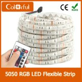 Alta tira flexible del brillo SMD5050 DC12V LED de la larga vida