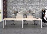 Ht08-3の白いカスタマイズされた金属の鋼鉄オフィスの会議の机フレーム