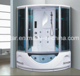 1350 mm Sector sauna de vapor con jacuzzi y ducha (AT-G8846)