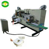 Papel descartável Die Cutting Tampa de assento de papel higiênico Folding Making Machine
