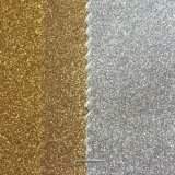 TPU Foiled Glitter PU Leather para sapatos Sandálias Hw-7551