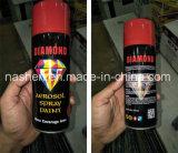 Pintura de aerosol metálico Pintura de aerosol de efecto cromo Pintura de pintura fluorescente
