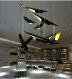 Lámparas de aluminio de bambú de la lámpara de las iluminaciones LED de la venta caliente moderna para el proyecto