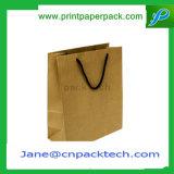 De aangepaste Gedetailleerde het Winkelen van de Kleding van de Gift van de Carrier Zak van het Document van Kraftpapier van de Zak