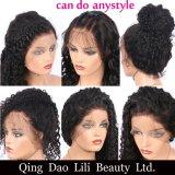 360 parrucche frontali del merletto in profondità fluttuano i capelli umani brasiliani dei capelli 100% di Remy