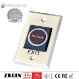 El control de acceso impermeable del metal RFID con luminoso y tiene acceso al telclado numérico