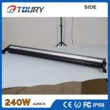 El trabajo al por mayor de la fábrica LED enciende 240W la barra ligera del aluminio LED
