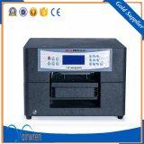 Máquina de impressão de t-shirt de mesa Impressora têxtil Digital DTG com tamanho A4