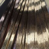 Tubo de oro del pasamano del acero inoxidable del color de Rose