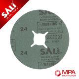 Disco de rueda de pulido de la fibra del metal de madera abrasivo de la alta calidad