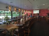 (SL-8306)ホーム食事のホテルのレストランの家具の純木のダイニングテーブル