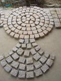 타올랐거나 갈았거나 넘어지는 자연 차도를 위한 G603 회색 화강암 Cubestone 또는 조약돌 또는 입방체 돌