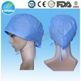 Chapeaux chirurgicaux non-tissés de SMS, chapeaux de chirurgien, chapeaux remplaçables