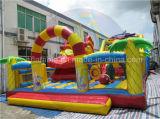 Guangzhou-Fabrik-aufblasbarer Spielplatz, riesiges Plättchen mit Großhandelspreis