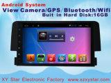 Androïde Systeem GPS van de Navigatie van 9 Duim voor de Speler van de Auto DVD van Honda Civic met Bluetooth/TV/WiFi