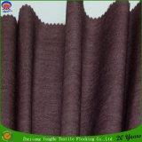 Home Textile Tissé Revêtement imperméable en polyester Taffetas Rideau Lining Tissu