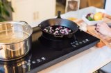 家庭電化製品、台所用品、赤外線ヒーター、ストーブの二重バーナーの調理器具、(SM-DIC08A)
