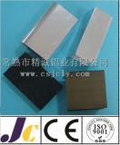 Le profil en aluminium de anodisation d'extrusion, argentent l'aluminium d'oxydation (JC-P-84033)