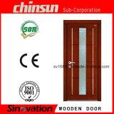 Patrones de puerta de madera con diseños de vidrio