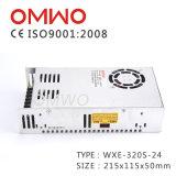 Bloc d'alimentation de commutation de Wxe-320s-24 320W 24V 12.5A AC-DC