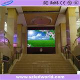 Arc Extérieur/Intérieur/location incurvée écran LED de panneau d'affichage (P3.91, P4.81, P5.95, P6.25)