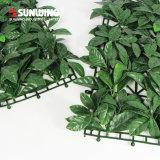 DIY alto durable y reutilizable fuera de las hojas artificiales del boj