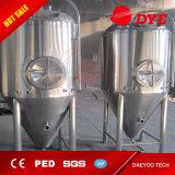 1000L Tank van Microbrewery van de Gister van het Bier van het roestvrij staal de Koel Beklede Kegel