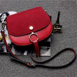 De buitensporige Groothandelsprijs Emg4934 van de Zak van de Schouder van het Leer van de Dekking van het Suède van de Handtassen van de Vrouwen van Zakken