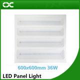 luz de painel quente do diodo emissor de luz da iluminação de painel do teto das vendas de 36W 600*600