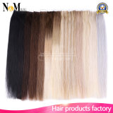 Extensão de cabelo sedoso para fita de extensão de cabeça cheia / cabelo humano