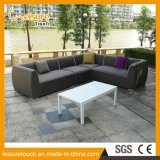 Allwetter- Haupthotel-Polsterung-Gewebe-im Freien Sofa-gesetzter Aufenthaltsraum-Garten-Patio-moderne Möbel