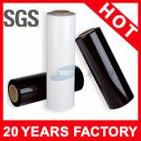 Película de estiramiento industrial transparente de la mano de LLDPE