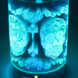 가정 훈장을%s 차가운 안개 가습기를 점화하는 밝은 LED가 유리에 의하여 3D 전기도금을 한다