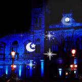 الاتّحاد الأوروبيّ سدادة عيد ميلاد المسيح قابل للفصل [لد] مصغّرة مسلاط ضوء لأنّ عيد ميلاد المسيح/خارجيّ/عطلة زخرفة