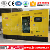 Generadores diesel de la refrigeración por agua 125kVA 100kw con el ATS montado en la pared silencioso