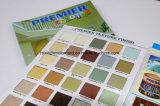Tarjeta de papel de la textura de color especial
