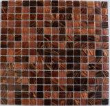 Nuevo azulejo de la piscina de la serie de Goldline del mosaico de cristal