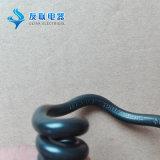 Cabo de mola de bobina espiral de alta flexibilidade e retrátil