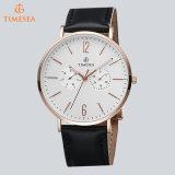 Vigilanza del movimento degli uomini giapponesi di lusso del cronografo sull'acciaio inossidabile Wristwatch72646 di vendita