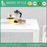 Table carrée en aluminium Table à manger en plein air Table à manger moderne (style magique)