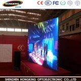 실내 풀 컬러 임대료 P4.8 발광 다이오드 표시 스크린 (500*1000mm)