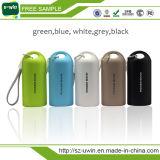 Pack batterie externe de côté en cuir de pouvoir pour l'iPhone Samsung Smartphone