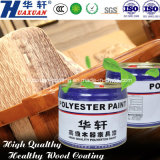 Huaxuan Wooden Furniture Peinture UV Laser Roller Peinture Glossy White Top Coat