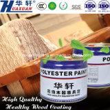 Meubles en bois Huaxuan peinture La peinture du rouleau de laser UV Top coat blanc brillant
