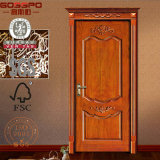 Apartmet klassische geschnitzte hölzerne Innentüren für Verkauf (GSP2-027)