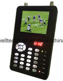 "3.5 ""Digital Satellite Finder Support DVB-S2 / MPEG-4 Signal Test"