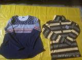 Niedriger Preis-Masse-Großverkauf-Mann-langes Hülsen-Hemd verwendete Kleidung
